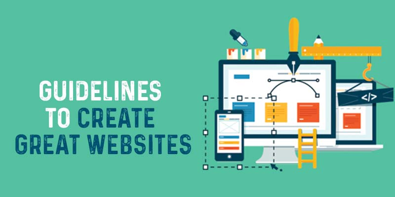 Guidelines to create great websites